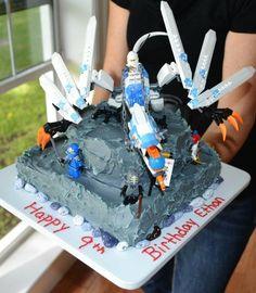 Ninjago cake by Charlene Owens