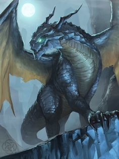 """"""" Sweet dragon art from –> JeeHyung lee """" Magical Creatures, Fantasy Creatures, Cool Dragons, Dragon's Lair, Dragon Artwork, Dragon Pictures, Fantasy Kunst, Blue Dragon, Creature Concept"""