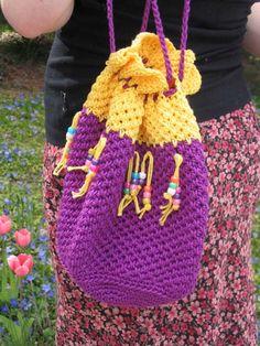 Super Size Crochet Tote - Marlo's Crochet Corner