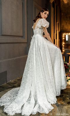 Gorgeous Wedding Dress, Gown Wedding, Dream Wedding, Popular Wedding Dresses, Bridal Dresses, Party Dresses, Gowns With Sleeves, Puff Sleeves, Lovely Dresses