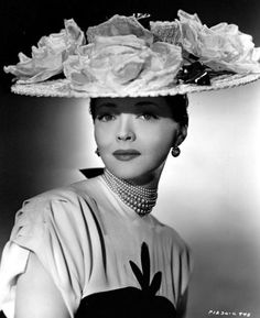 Sylvia Sidney, 1946......Uploaded By www.1stand2ndtimearound.etsy.com
