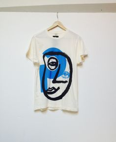 "eatingmessyfruit: "" cream HARING style MODERN artist super SOFT t shirt """