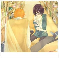 Find images and videos about anime, manga and bleach on We Heart It - the app to get lost in what you love. Bleach Ichigo And Rukia, Kuchiki Rukia, Bleach Anime, Anime Couples, Cute Couples, Kyou Koi Wo Hajimemasu, Clorox Bleach, Otaku, Bleach Couples
