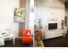 """Love the photo display on the left, very creative way of """"framing"""" a picture {Rialee Photography}"""