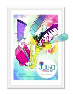 JULHO CULTURAL 2011 Full Project by Alexandre Palacio, via Behance