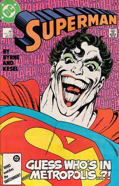 Superman 9 - Joker crossover
