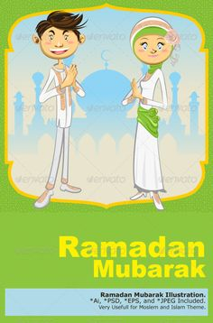 Ramadan Mubarak  #GraphicRiver         Illustration of Islamic Moslem Holiday Celebrating Ramadan Mubarak   Main File is Vector Ai. Easy to Use and Custom. Also Available in another format. PSD (Vector Smart Object), Eps.8 and High Ress Jpeg.     Created: 20July12 GraphicsFilesIncluded: PhotoshopPSD #JPGImage #VectorEPS #AIIllustrator Layered: Yes MinimumAdobeCSVersion: CS Tags: Crescentmoon #Eidal-Fitr #Eidul-Fitr #Koran #Ramadhan #allah #blessing #calligraphy #celebration #enlightenment…