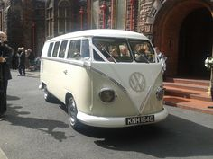 Wedding VW van.