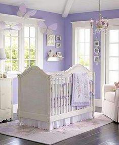 Purple nursery love this color