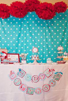 Sweet Snowflake Birthday Party