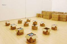Cajas abiertas: vacío y lleno