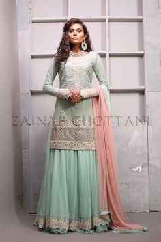 New Arrival Formal Dresses Collection 2016 by Zainab Chottani