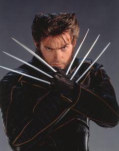 wolverine (Hugh Jackman) X- Men Wolverine Hair, Wolverine Movie, Logan Wolverine, Marvel Wolverine, Hugh Jackman, Hugh Michael Jackman, Marvel Heroes, Marvel Dc, Laura Movie