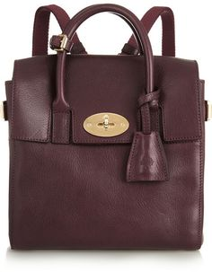 Mulberry   Cara Delevingne mini leather backpack