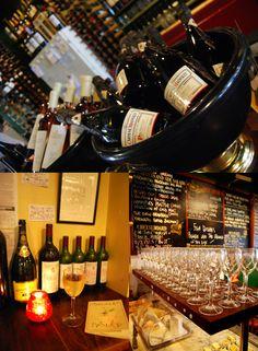 Shampers Wine Bar & Restaurant offers 30 wines for less than £25 per bottle.