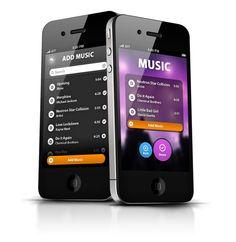 Phone App UI - Party Maker on Behance
