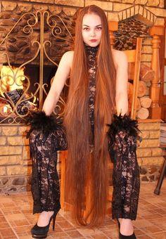 How to Grow Super Long Hair You'll Need: 1 tbsp coconut oil 1 tbsp . Save This PIN Long Hair Tips, Long Red Hair, Super Long Hair, Beautiful Red Hair, Rapunzel Hair, Mi Long, Hair Lengths, Girl Hairstyles, Hair Beauty