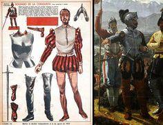 Para Tenochtitlan, respecto de una novela gráfica: Atrezzo II: entre la Edad Media y Renacimiento / Atrezzo II: Entre lo medieval y el Renacimiento