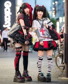 Mode Harajuku, Harajuku Girls, Harajuku Fashion, Kawaii Fashion, Lolita Fashion, Harajuku Style, Kimono Fashion, Girl Fashion, Tokyo Street Fashion