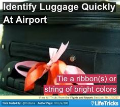 Flights and Airports - Identify Luggage Quickly At Airport