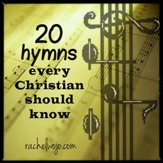"""While I love all types of music, I think hymns should never go """"out of style!"""" :) Which ones are your favorites?"""