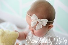 Cream Sailor Bow by ShopBumbleBerryBaby on Etsy https://www.etsy.com/listing/270128648/cream-sailor-bow