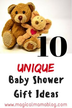 10 Unique baby shower gift ideas for the shower you have on your calendar! Be sure you show up with something special and memorable! Unique Baby Boy Gifts, Unique Baby Shower Gifts, Baby Shower Gifts For Boys, Baby Girl Gifts, Gifts For Girls, Baby Boy Shower, Parent Gifts, Family Gifts, Incredible Gifts