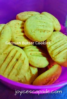 Joy 'N' Escapade: Melt-In-Your-Mouth Cream Cheese Butter Cookies