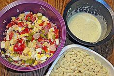 Hoernlisalat...Swiss macaroni salad