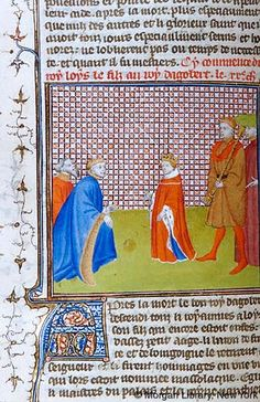 Grandes chroniques de France, MS M.536 fol. 65v - Images from Medieval and…