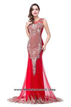 Gala Abendkleid 2017 Online Rot Arabella
