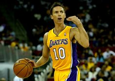 Steve Nash: first time in action