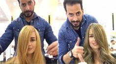 Ženy berou tohoto kadeřníka útokem. Vlasy jim barví oříškovou pomazánkou. VIDEO proměny