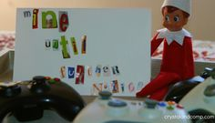 Elf on the Shelf: The Ransom Note