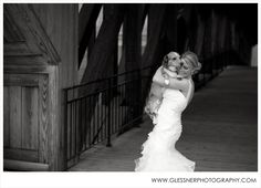 Nothing like the love between a dog and his owner!  Lisa's Bridal Portraits at Old Salem Museum & Gardens, Winston-Salem, NC | NC Wedding Photographer | ©2013 Glessner Photography