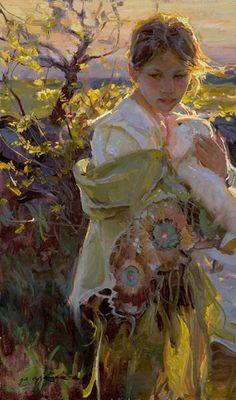 Pintura a óleo sobre tela de Daniel F. Gerhartz
