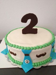 Little man birthday cake!