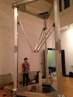 3ders.org - 5-meter tall giant Magna Delta 3D Printer unveiled by Japanese creators | 3D Printer News & 3D Printing News