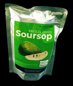 Soursop Fruit, All Vitamins, Food Charts, Healthy Fruits, Healthy Eating, Jamaican Recipes, How To Eat Better, Freeze Drying, Easy Snacks
