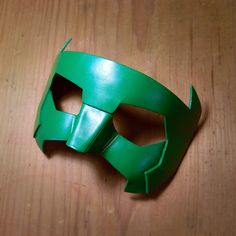 Green Lantern Mask Kyle Rayner New Guardians Leather Masks New 52 Cosplay Costume Red Blue White Halloween Super hero DC Comics Sidekick