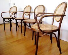 Bentwood chair by Jacob & Josef made in Radomsko Poland c 1900-1926 Thonet era