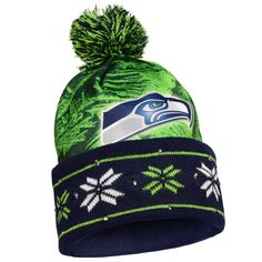 """Checkout our #LicensedGear products FREE SHIPPING + 10% OFF Coupon Code """"Official"""" SEATTLE SEAHAWKS BIG LOGO LIGHT UP PRINTED BEANIE - SEATTLE SEAHAWKS BIG LOGO LIGHT UP PRINTED BEANIE - Price: $32.00. Buy now at https://officiallylicensedgear.com/seattle-seahawks-big-logo-light-up-printed-beanie"""