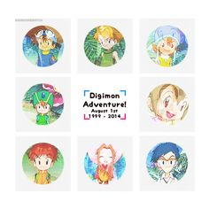 Taichi Yagami & Sora Takenouchi & Yamato Ishida & Koushiro Izumi & Mimi Tachikawa & Jou Kido & Hikari Yagami & Takeru Takaishi