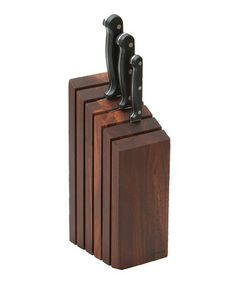 Woodard & Charles Rosewood Knife Block by Woodard & Charles Kitchen Gifts, Diy Kitchen, Knife Block, Wood Pallets, Kitchen Accessories, Woodworking Projects, Crazy Man, Tableware, Organizing Ideas