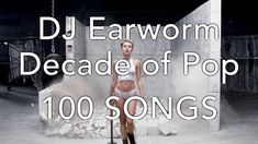 DJ Earthworm und seine Decade of Pop – 100 Songs Mashup Walk The Moon, Clean Bandit, What Makes You Beautiful, Call Me Maybe, Love Me Like, French Montana, Jessie J, One Republic, David Guetta