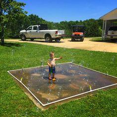 $40 DIY Splash Pad! little white house blog: Our DIY ...