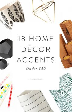 Under-$50 home accent pieces perfect for every home