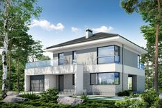 Modern House Floor Plans, Dream House Plans, Classic House Design, Home Fashion, Home Projects, Custom Homes, Townhouse, Sweet Home, Mansions
