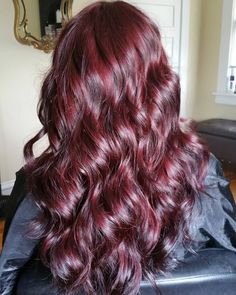 Burgundy Waves