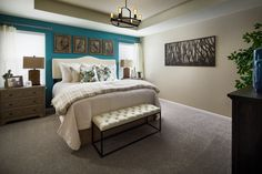 Everything's Included by Lennar, the leading homebuilder of new homes for sale in the nation's most desirable real estate markets. Girls Bedroom, Master Bedroom, Bedroom Decor, Master Suite, Bedrooms, Colorful Interior Design, New House Plans, New Homes For Sale, House Goals